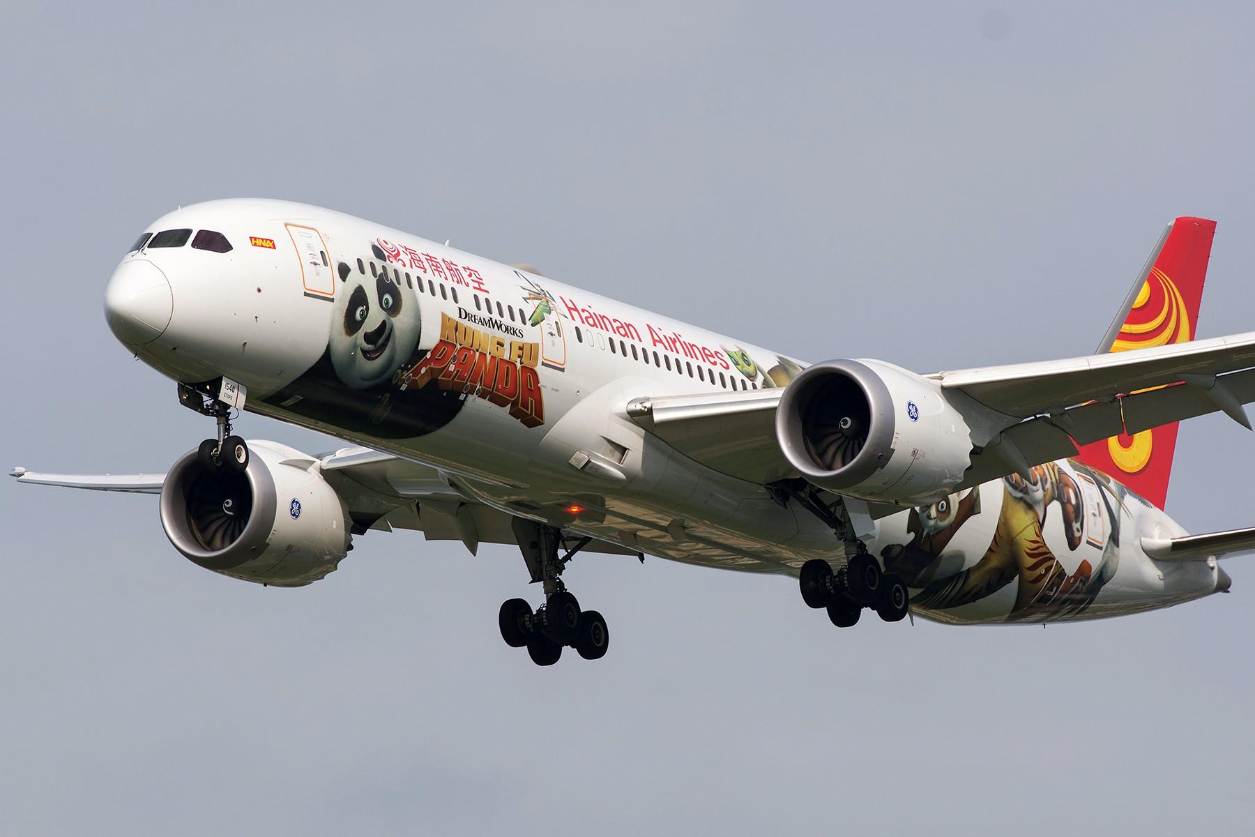 [PVG] 迎来送往白斩熊猫 BOEING 787-9 B-1540 中国上海浦东国际机场