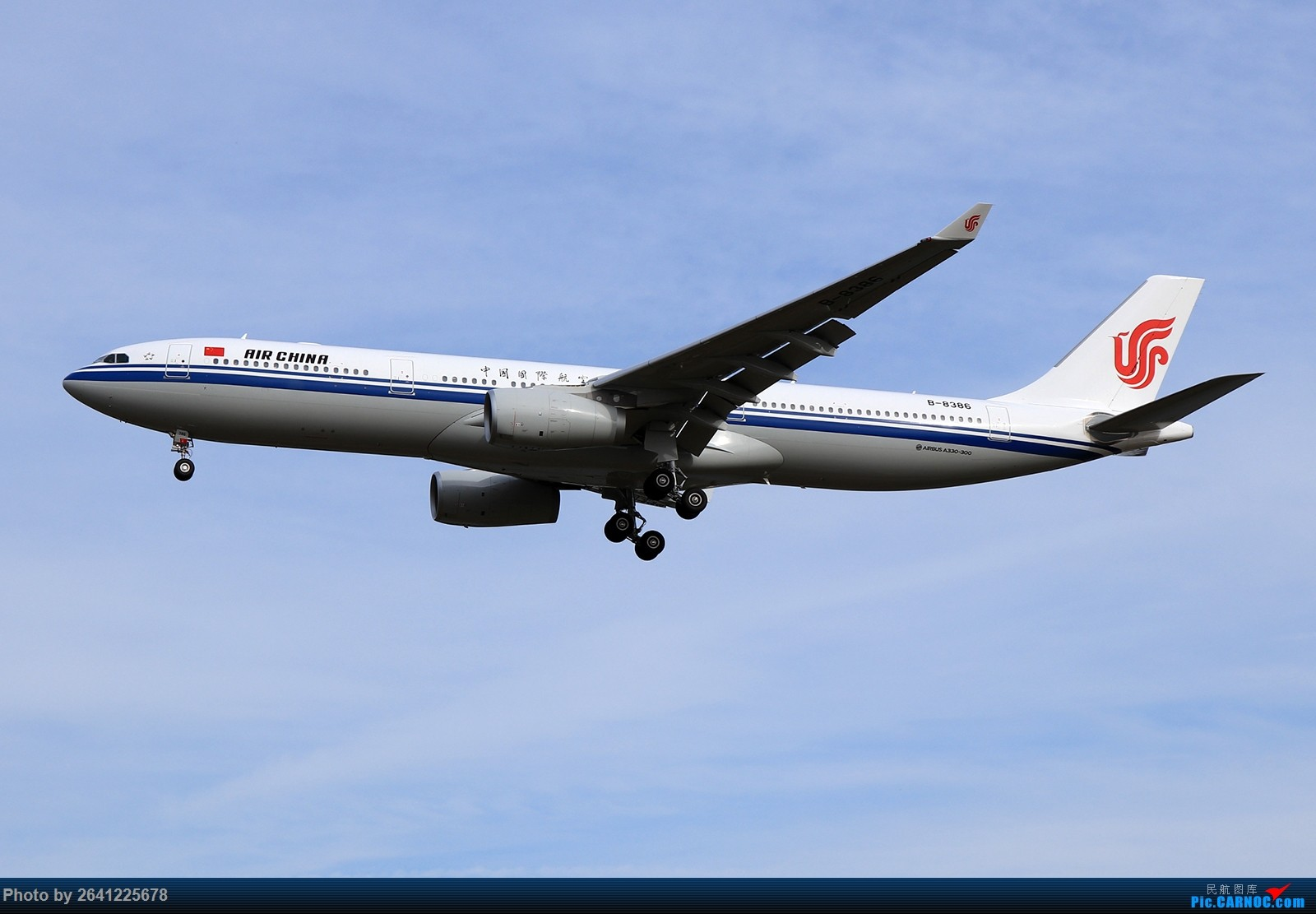 Re:杂图一组 AIRBUS A330-300 B-8386 中国北京首都国际机场