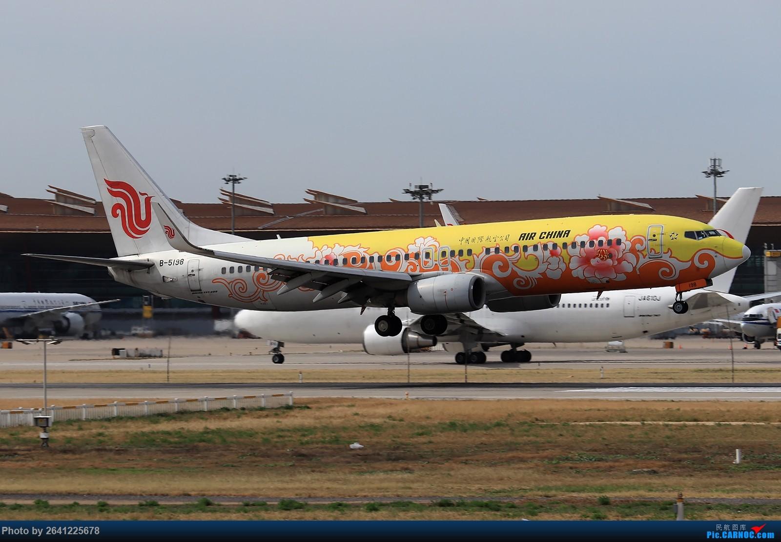 Re:杂图一组 BOEING 737-800 B-5198 中国北京首都国际机场