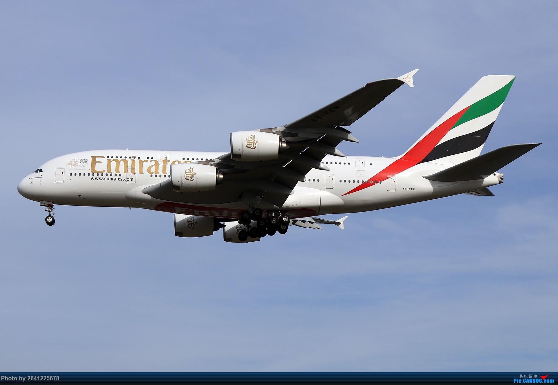 Re:[原创]杂图一组 AIRBUS A380 A6-EEN 中国北京首都国际机场