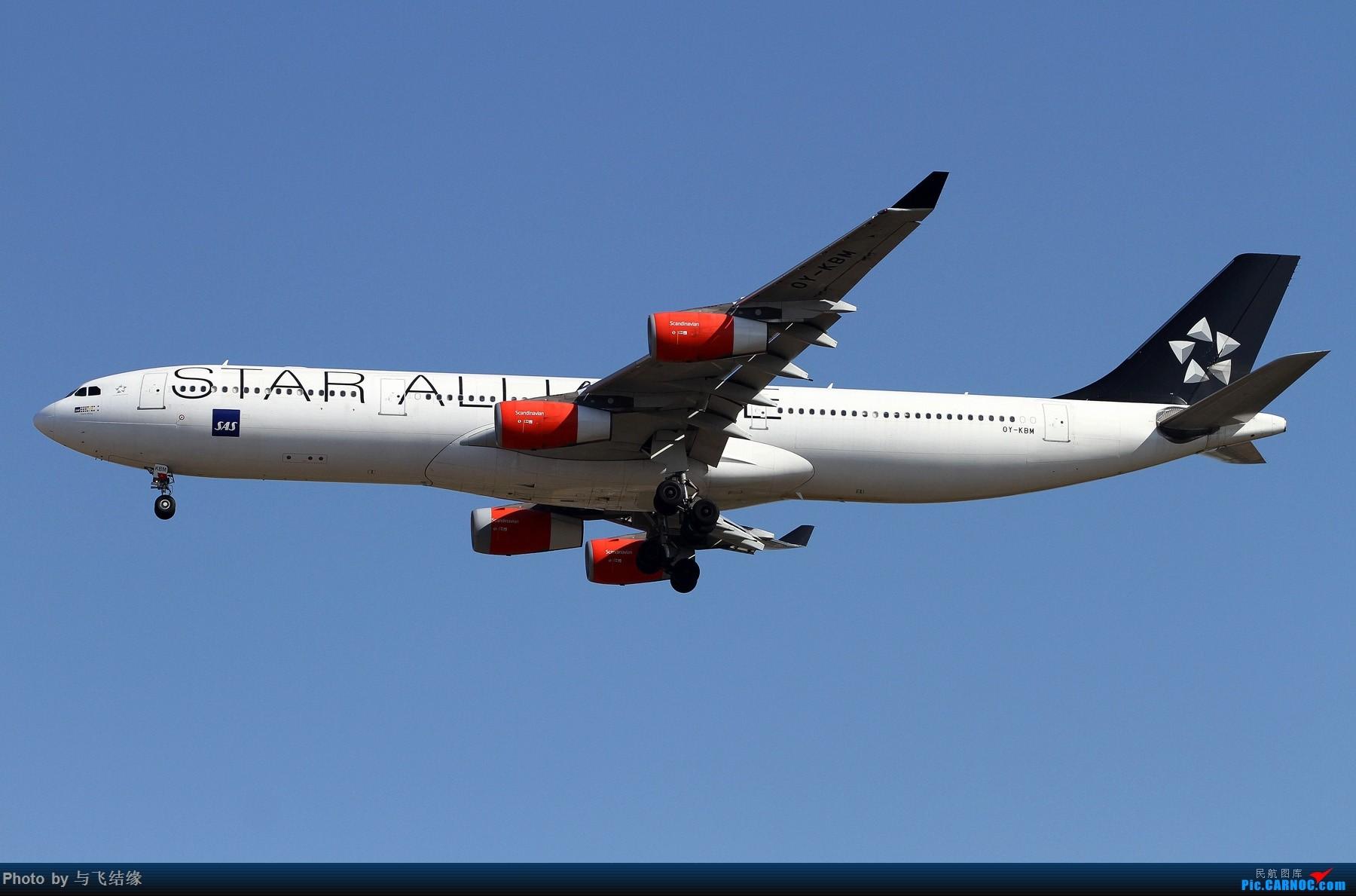 Re:[原创]现在的,过去的。在PEK的那些Airbus A340-300(航班)! AIRBUS A340-300 OY-KBN 中国北京首都国际机场
