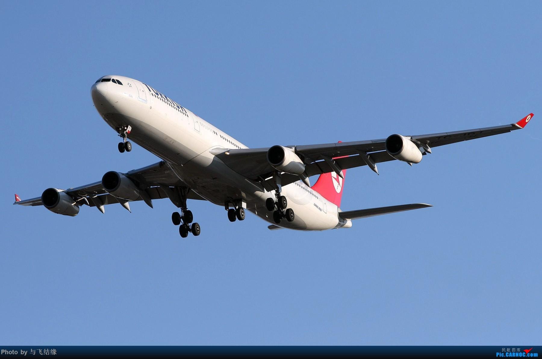 Re:[原创]现在的,过去的。在PEK的那些Airbus A340-300(航班)! AIRBUS A340-300 TC-JDJ 中国北京首都国际机场