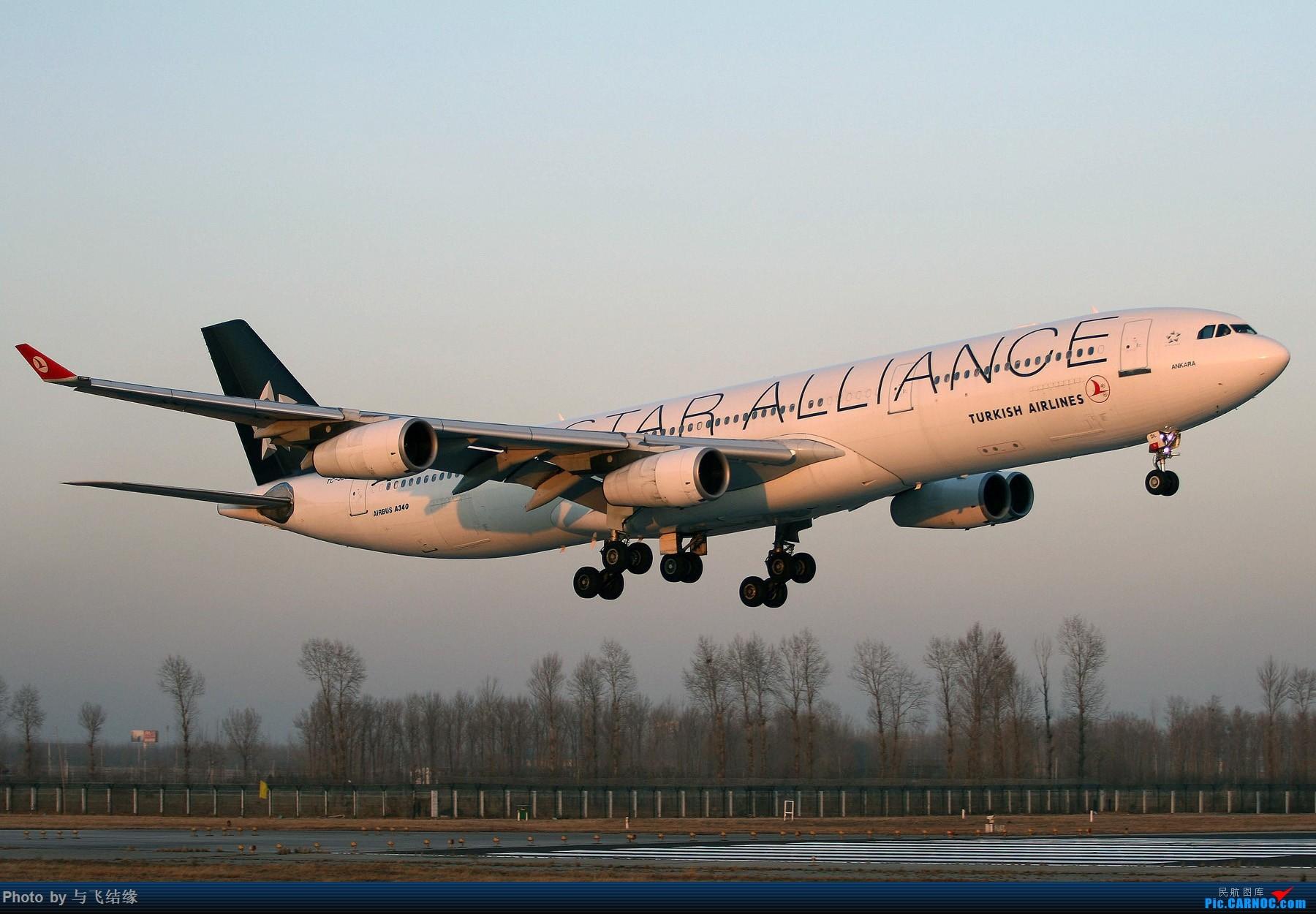 Re:[原创]现在的,过去的。在PEK的那些Airbus A340-300(航班)! AIRBUS A340-300 TC-JDL 中国北京首都国际机场
