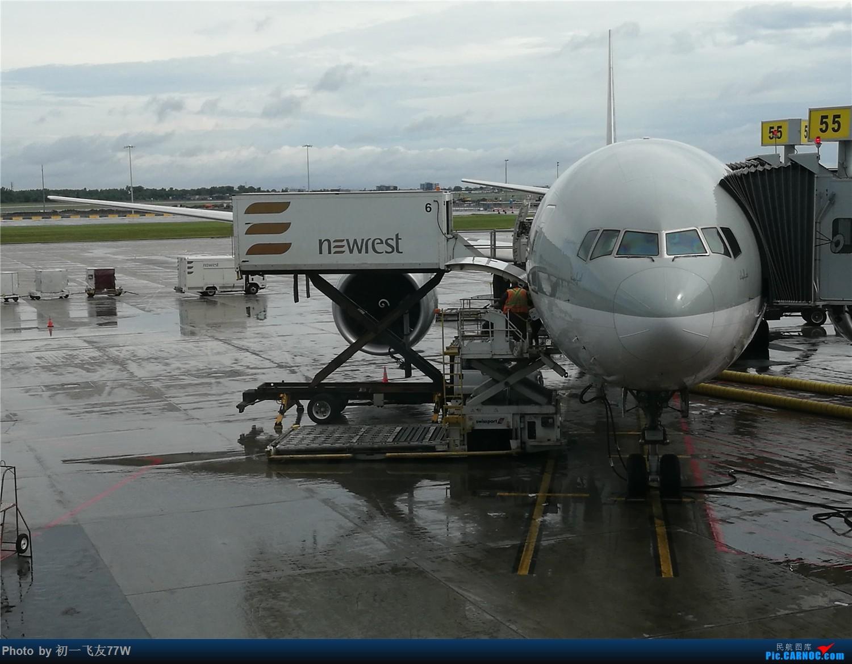 Re:蒙特利尔到海口,中转上海浦东 BOEING 777-300ER