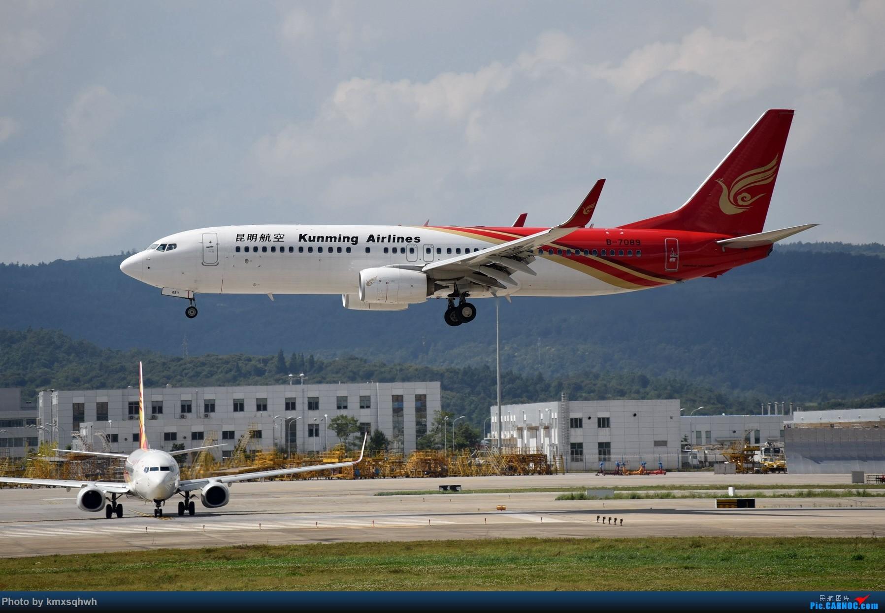 Re:[原创]国庆长水拍机 BOEING 737-800 B-7089 中国昆明长水国际机场