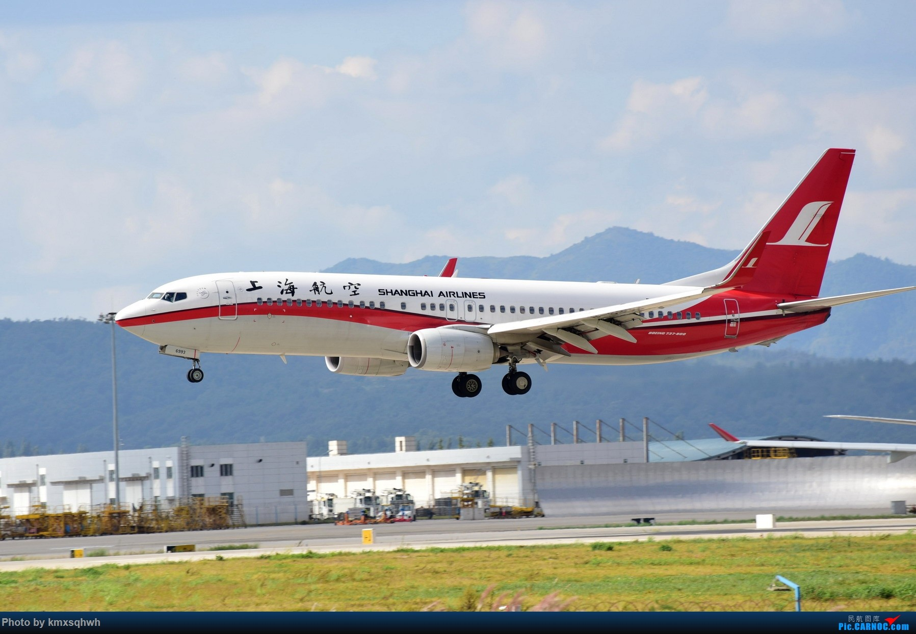 Re:[原创]国庆长水拍机 BOEING 737-800 B-6993 中国昆明长水国际机场