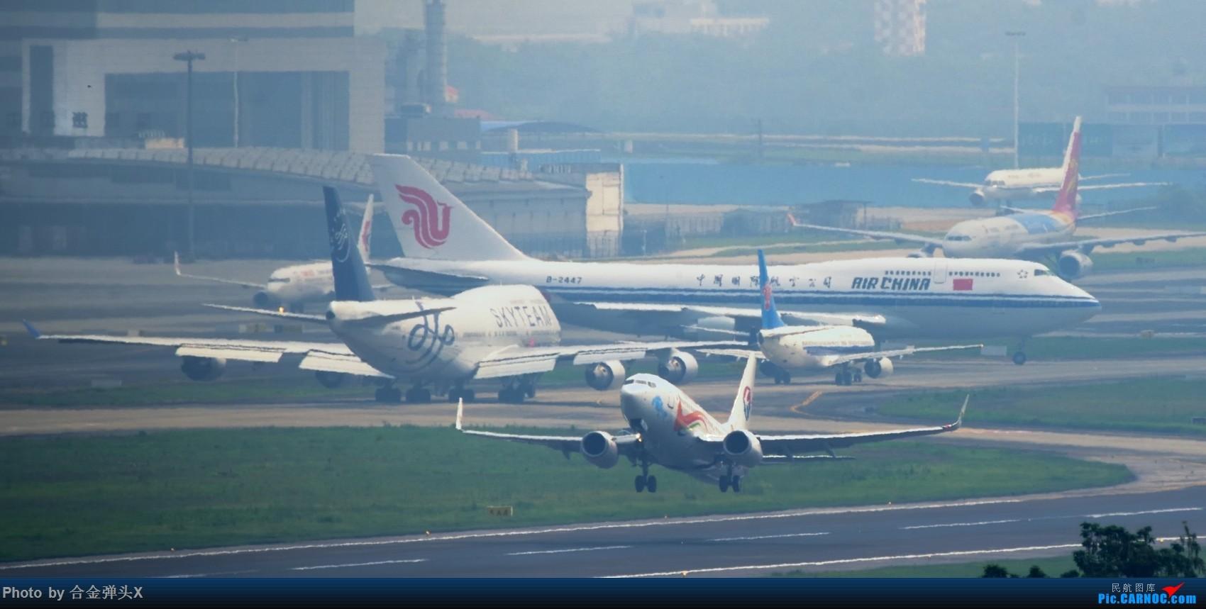 [原创]【CTU】一框内难得的相聚,再次诠释了烂天定律    中国成都双流国际机场