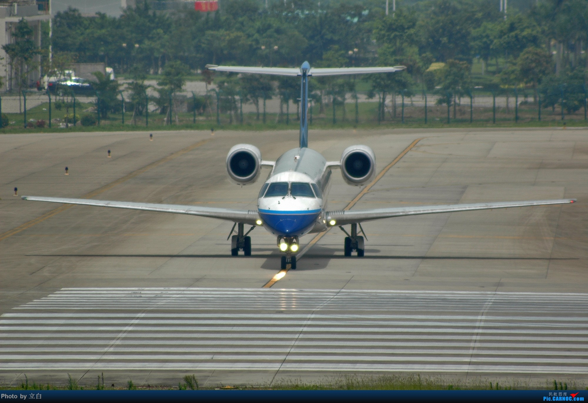 [原创]以前拍的烂片,但也算是历史的记忆 EMBRAER ERJ-145 B-3062 中国广州白云国际机场