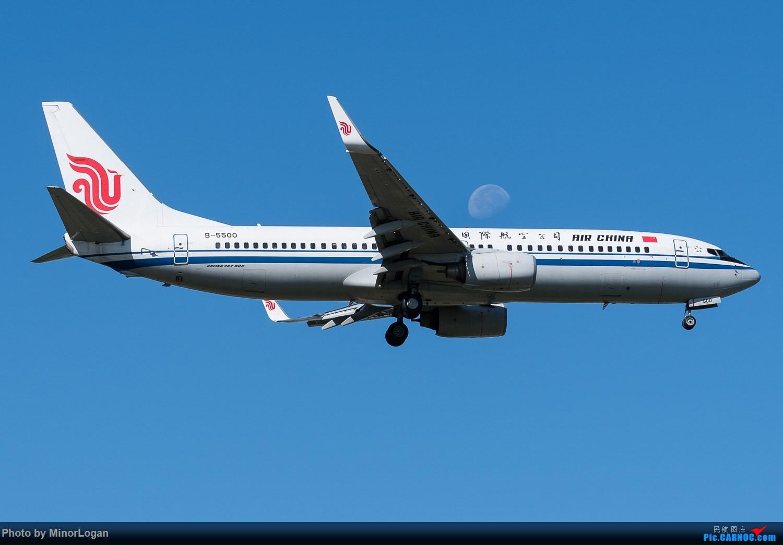 [原创][1500*1000]B-5500 BOEING 737-800 B-5500 中国北京首都国际机场