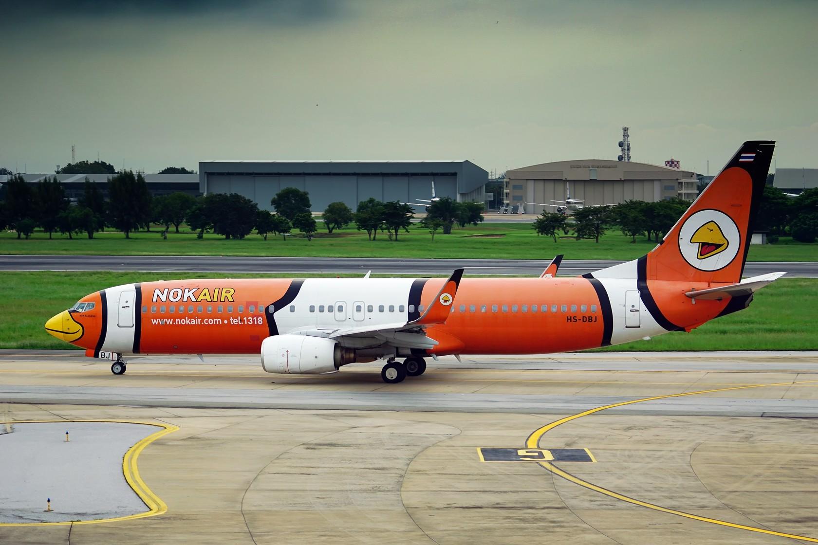 Re:nokaie 皇雀航空 不说别的 就问你萌不萌 BOEING 737-800 HS-DBJ 泰国曼谷廊曼国际机场