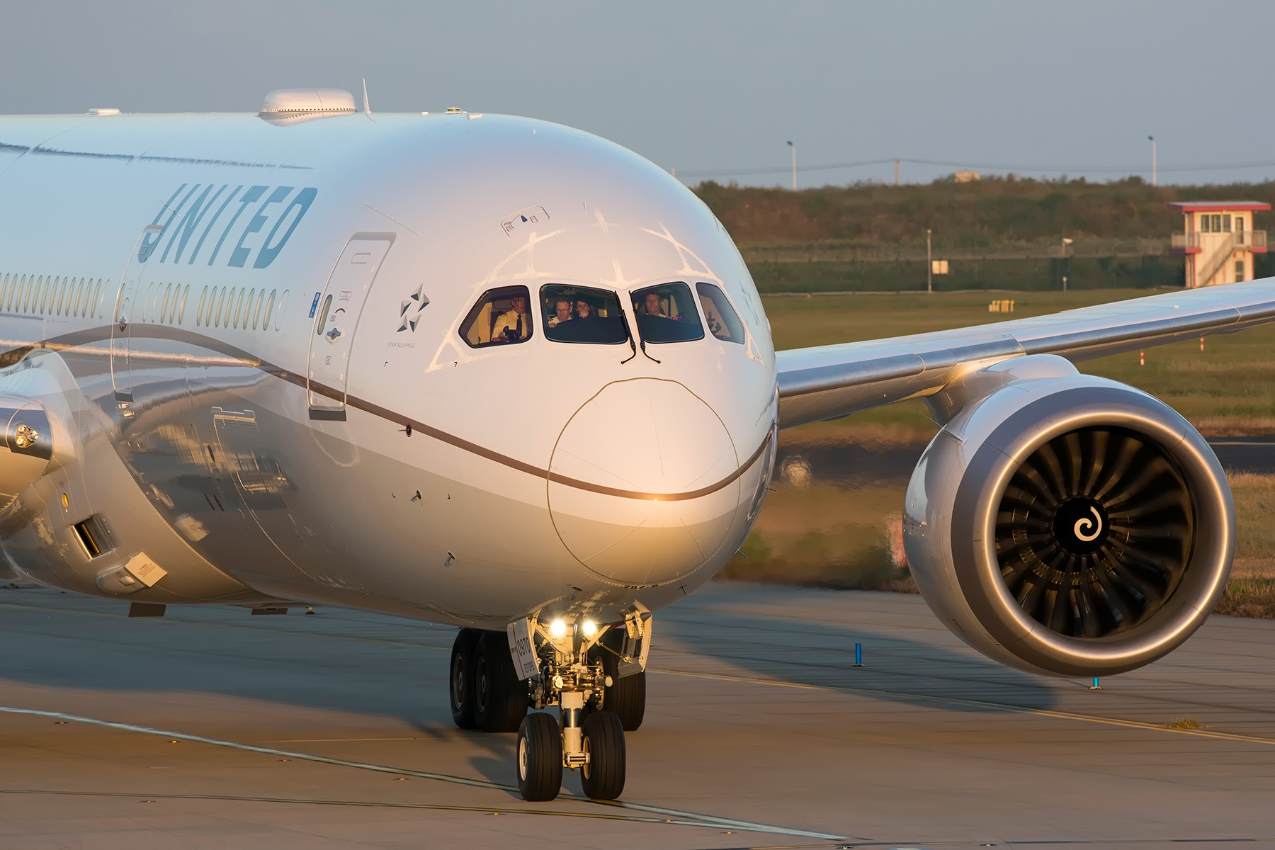 【PVG】一图党之美联航789 BOEING 787-9 N26970 中国上海浦东国际机场