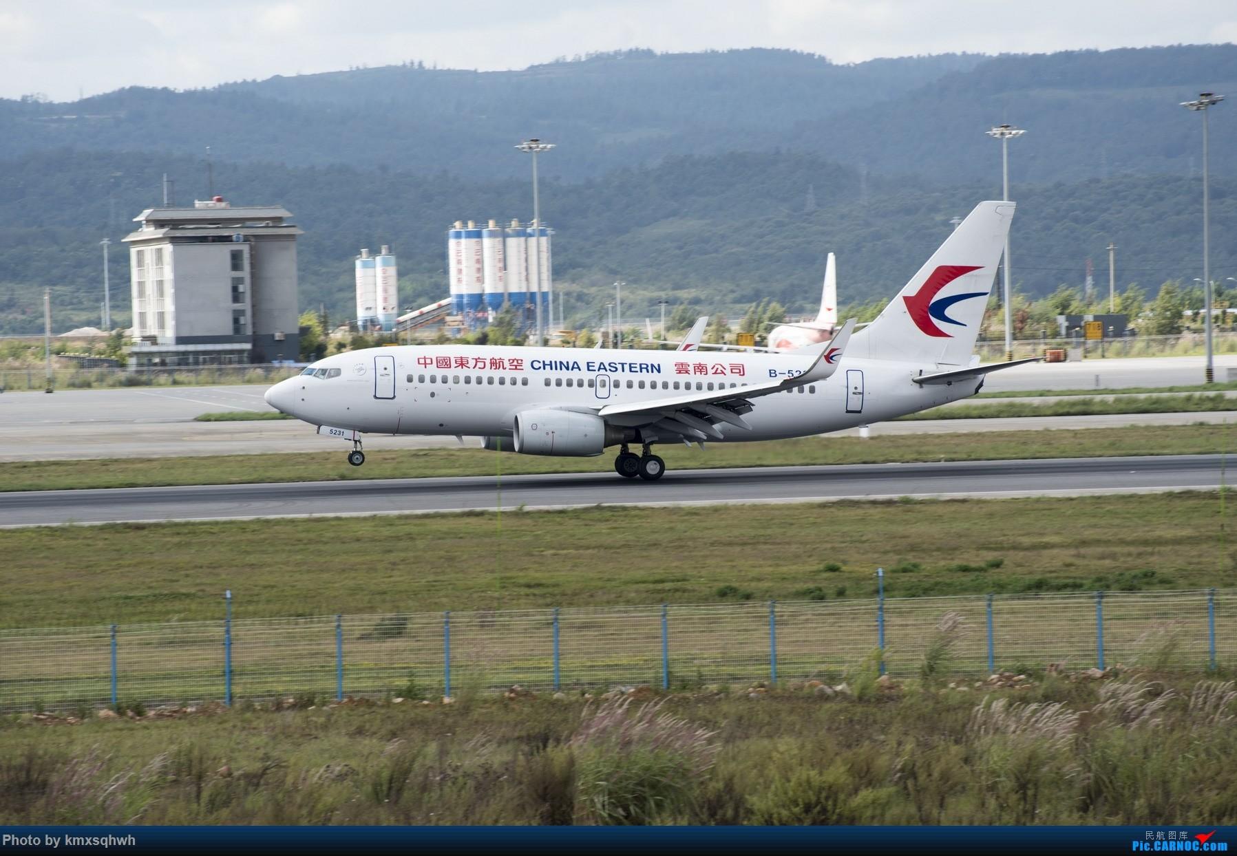 Re:接地两次擦烟 BOEING 737-700 B-5231 中国昆明长水国际机场