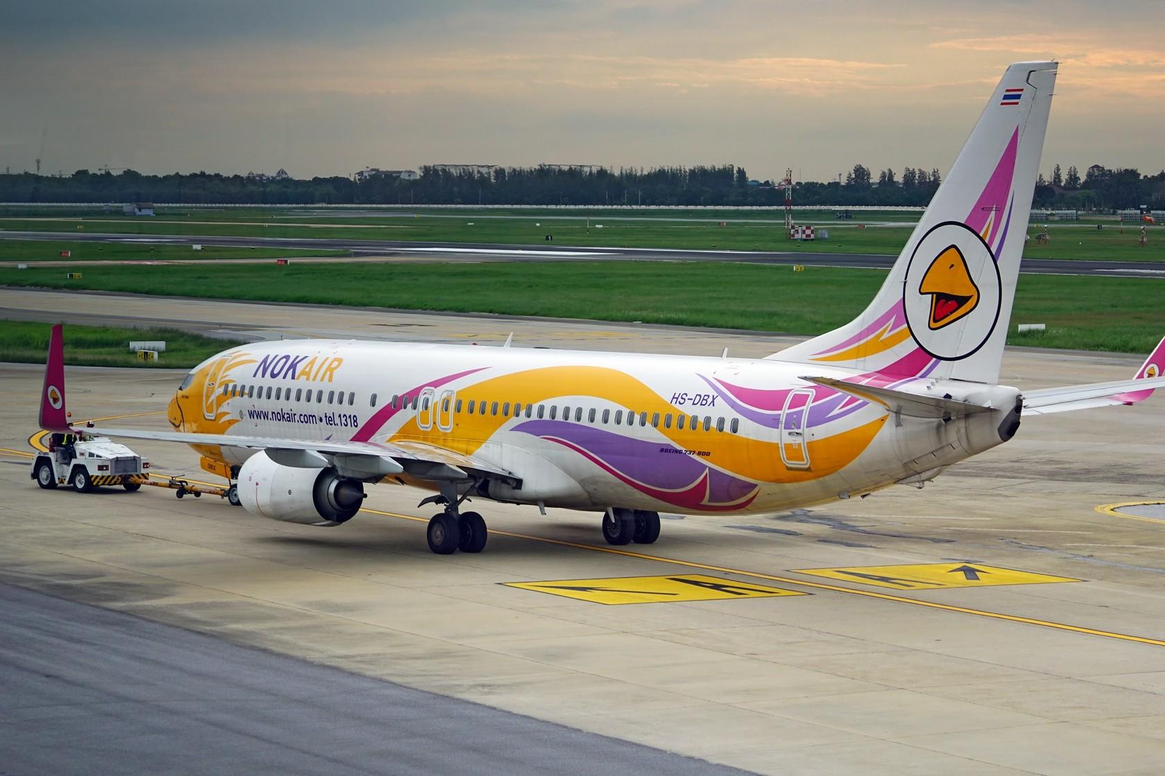 Re:nokaie 皇雀航空 不说别的 就问你萌不萌 BOEING 737-800 HS-DBX 泰国曼谷廊曼国际机场