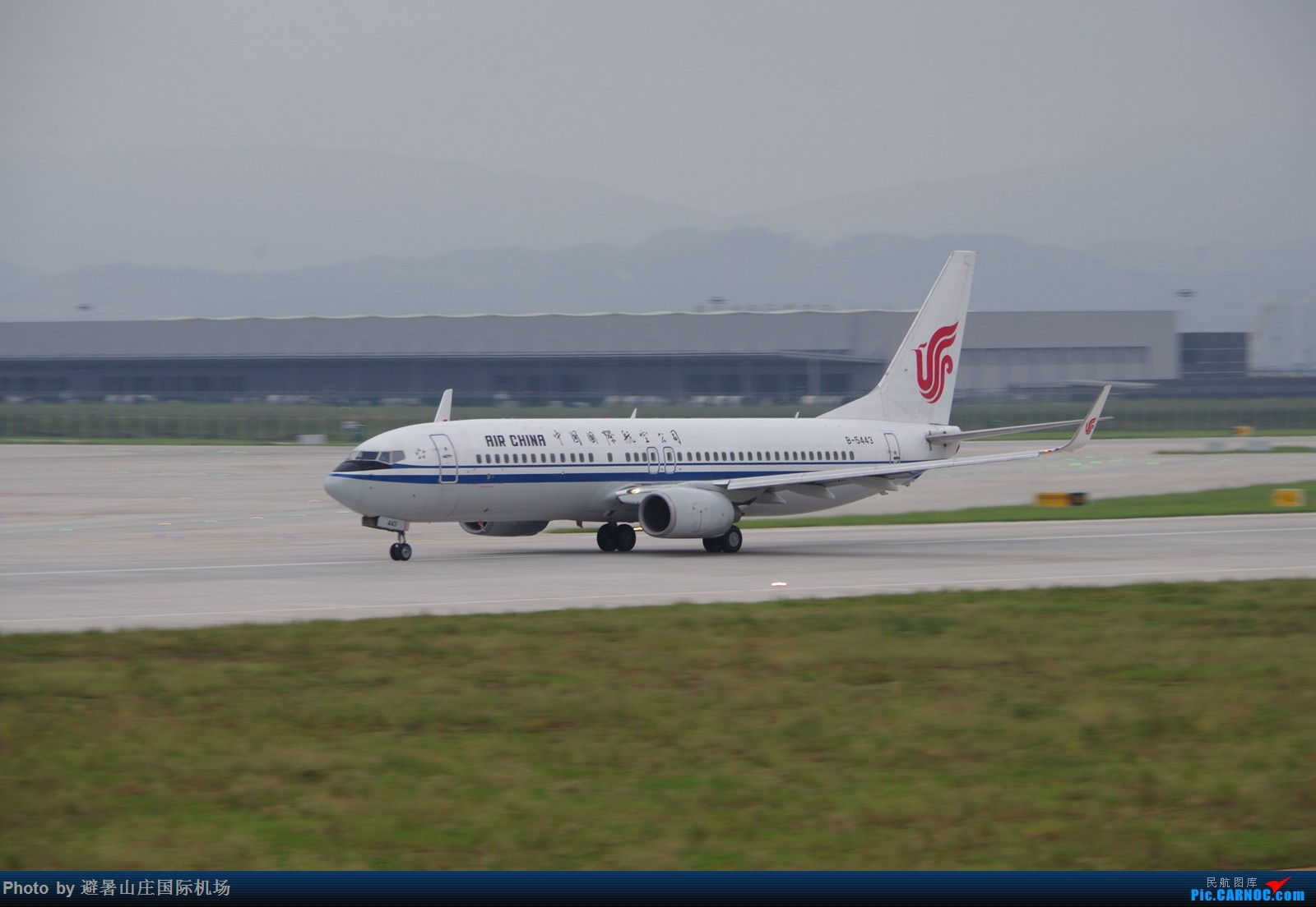 Re:CKG三跑神仙位首战 BOEING 737-800 B-5443 中国重庆江北国际机场
