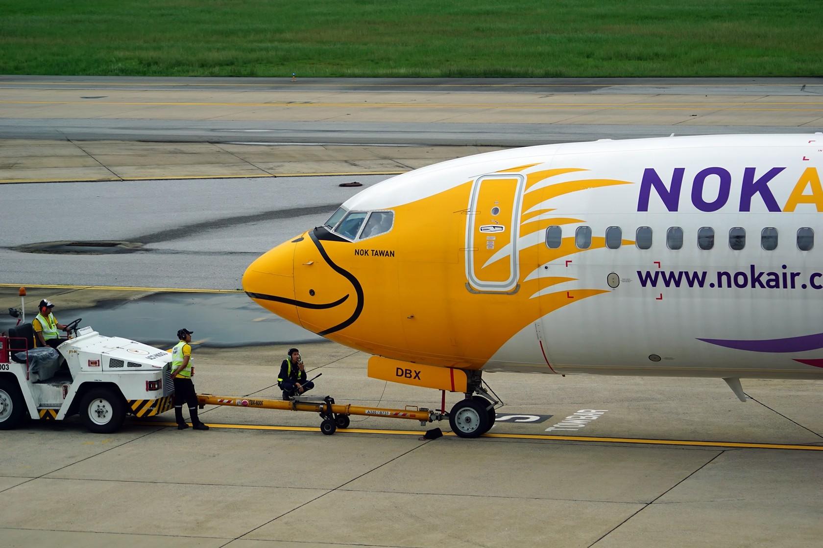 Re:[原创]nokaie 皇雀航空 不说别的 就问你萌不萌 BOEING 737-800 HS-DBX 泰国曼谷廊曼国际机场