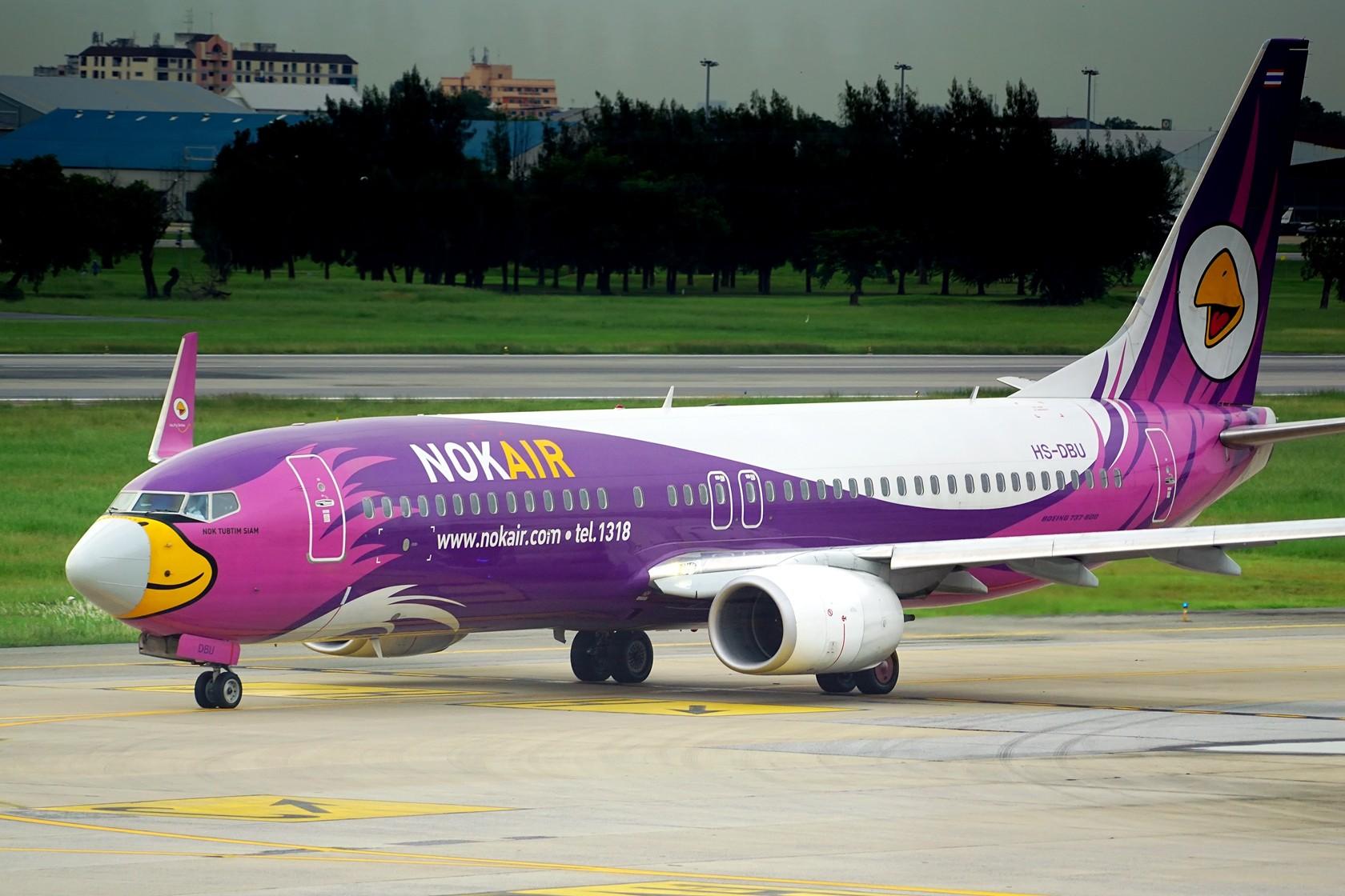 Re:nokaie 皇雀航空 不说别的 就问你萌不萌 BOEING 737-800 HS-DBU 泰国曼谷廊曼国际机场