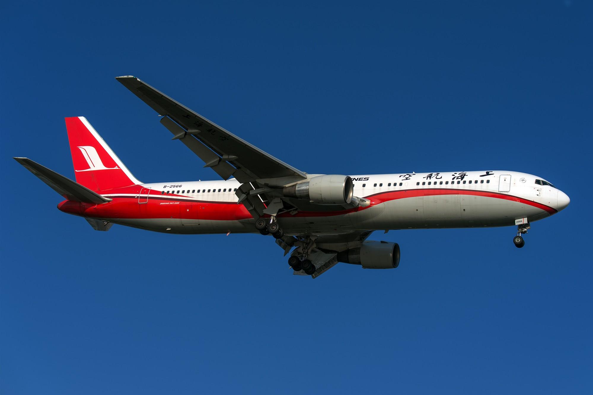 Re:[原创]好像上航最后一架767ER退了,今天拍到他最后的身影
