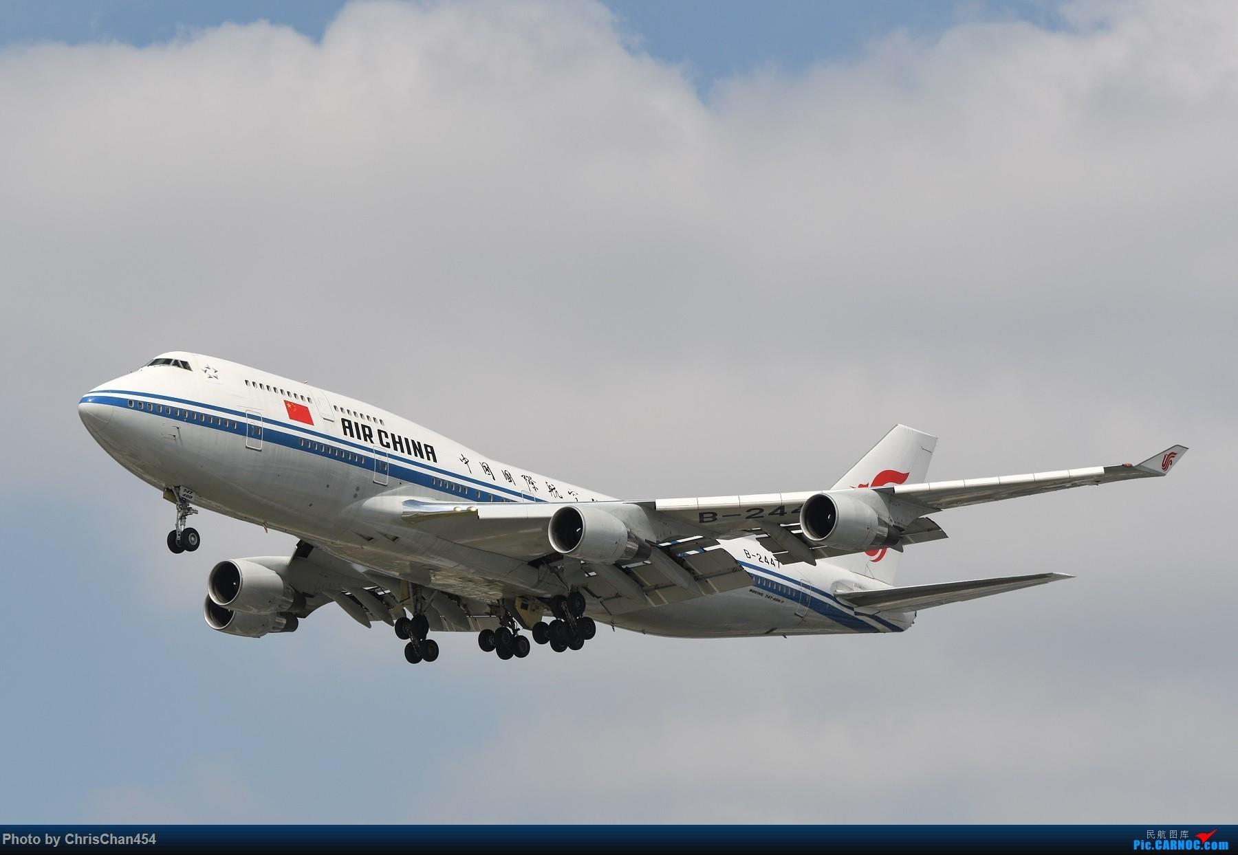 Re:国庆虹桥,终于拍到2447! BOEING 747-400 B-2447 中国上海虹桥国际机场
