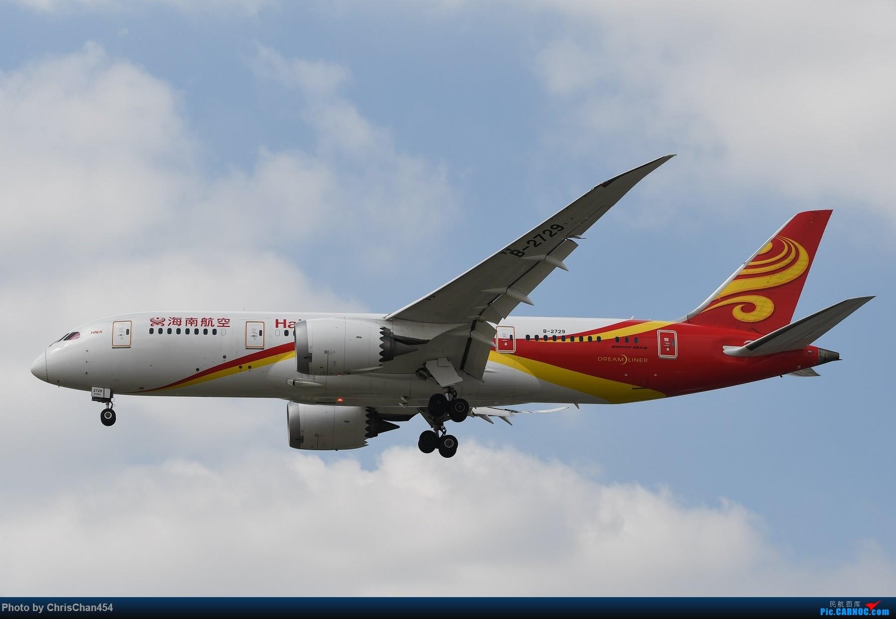 Re:国庆虹桥,终于拍到2447! BOEING 787-8 B-2729 中国上海虹桥国际机场