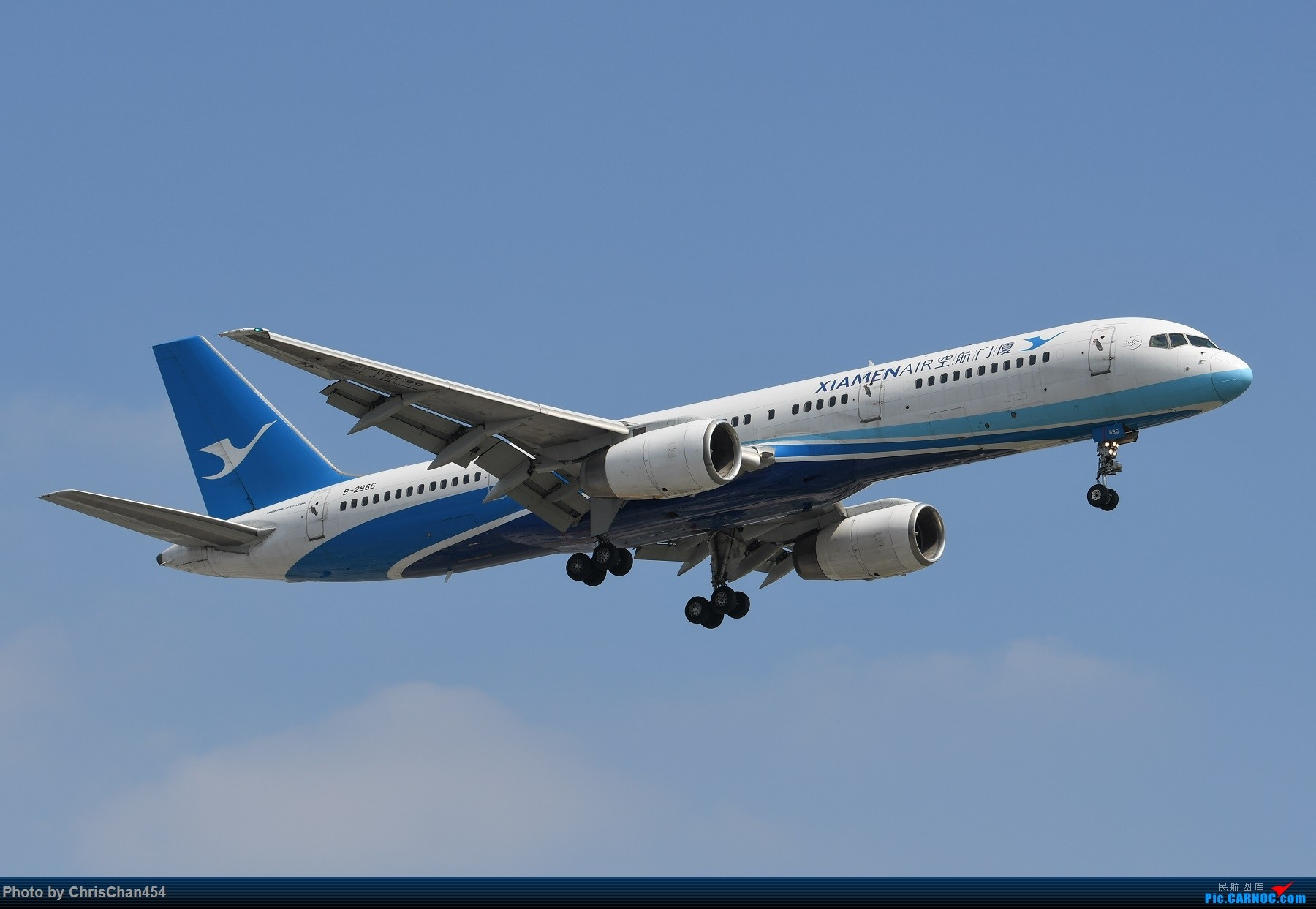 Re:国庆虹桥,终于拍到2447! BOEING 757-200 B-2866 中国上海虹桥国际机场