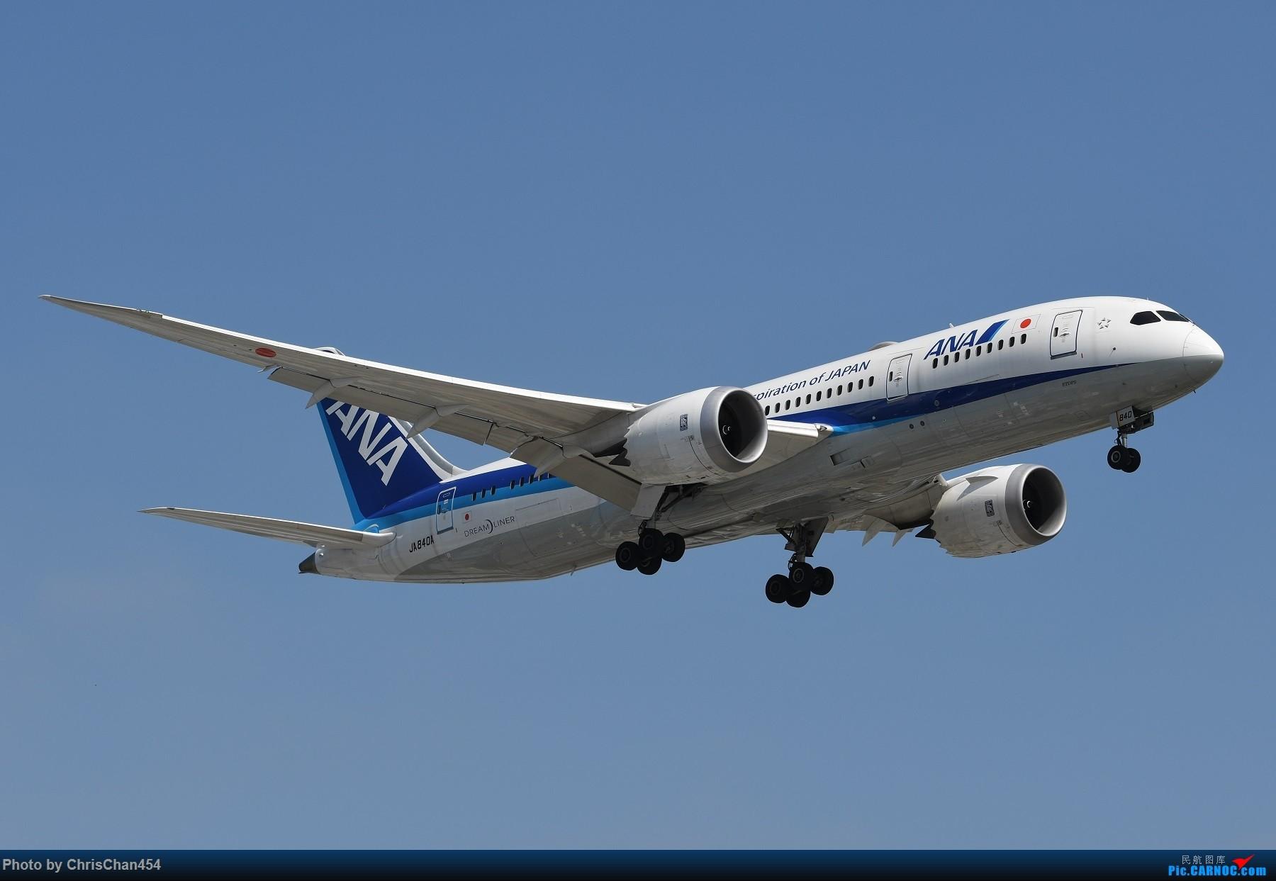 Re:国庆虹桥,终于拍到2447! BOEING 787-8 JA840A 中国上海虹桥国际机场