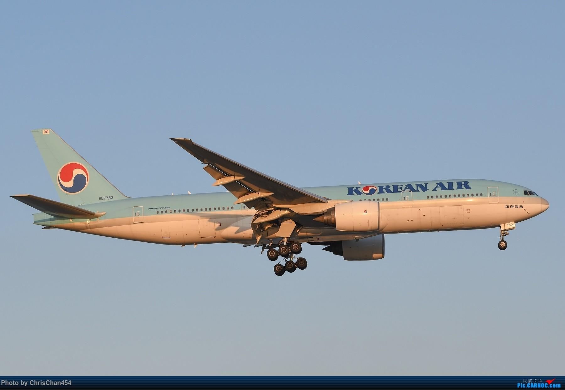 Re:[原创]国庆虹桥,终于拍到2447! BOEING 777-200 HL7752 中国上海虹桥国际机场