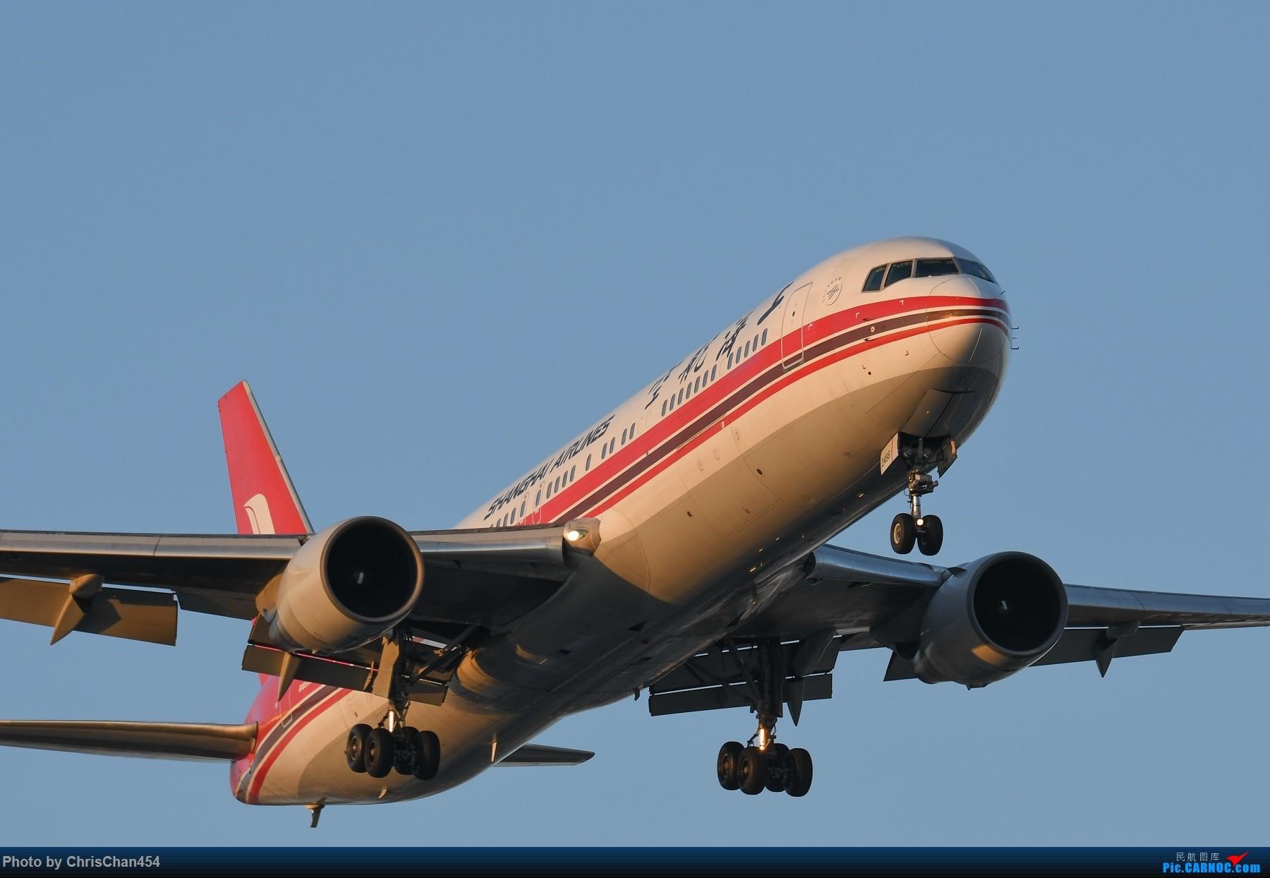 Re:[原创]国庆虹桥,终于拍到2447! BOEING 767-300 B-2498 中国上海虹桥国际机场