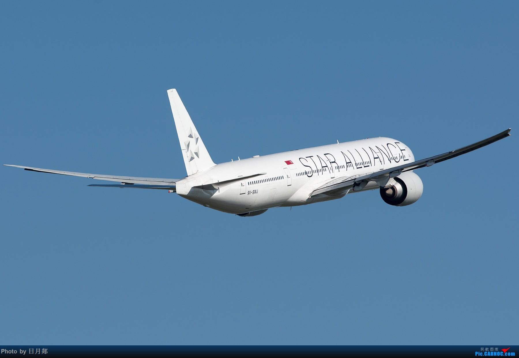 [原创]能发贴了,来个PVG 起飞重型一组 BOEING 777-300ER  中国上海浦东国际机场