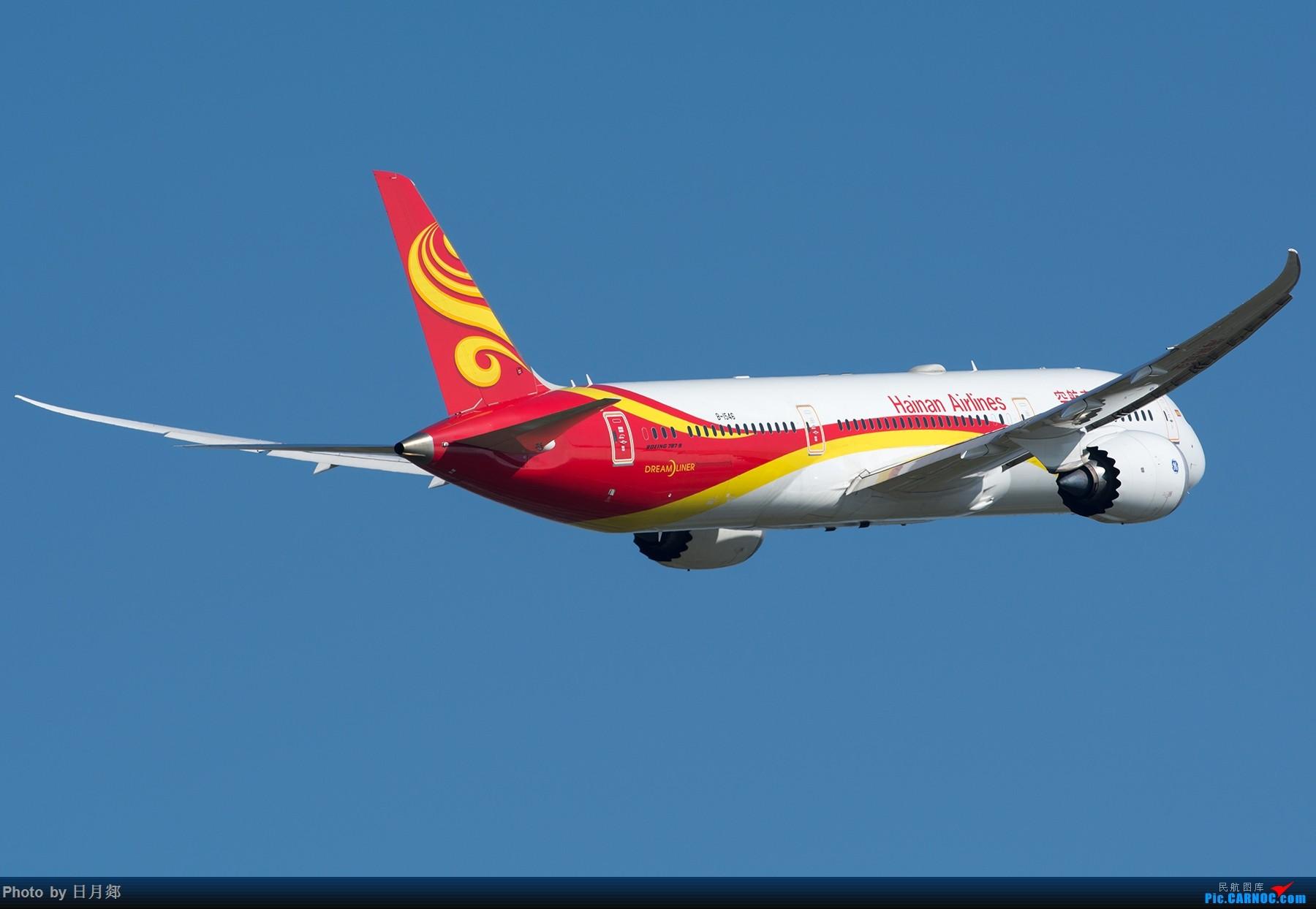 Re:[原创]能发贴了,来个PVG 起飞重型一组 BOEING 787-9 B-1546 中国上海浦东国际机场