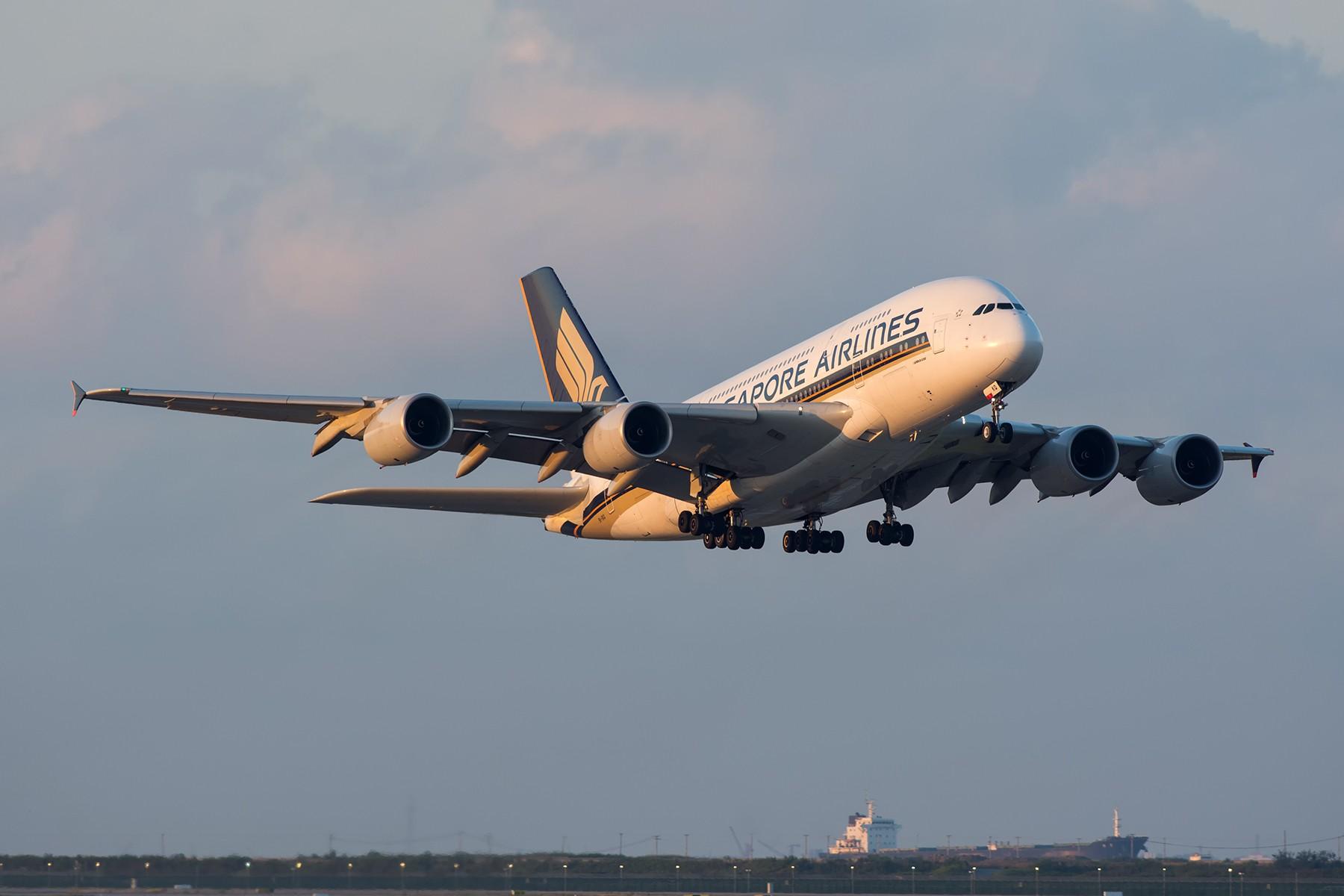 Re:[原创]【PVG】夕阳无限好,只是近黄昏 AIRBUS A380-800 9V-SKQ 中国上海浦东国际机场