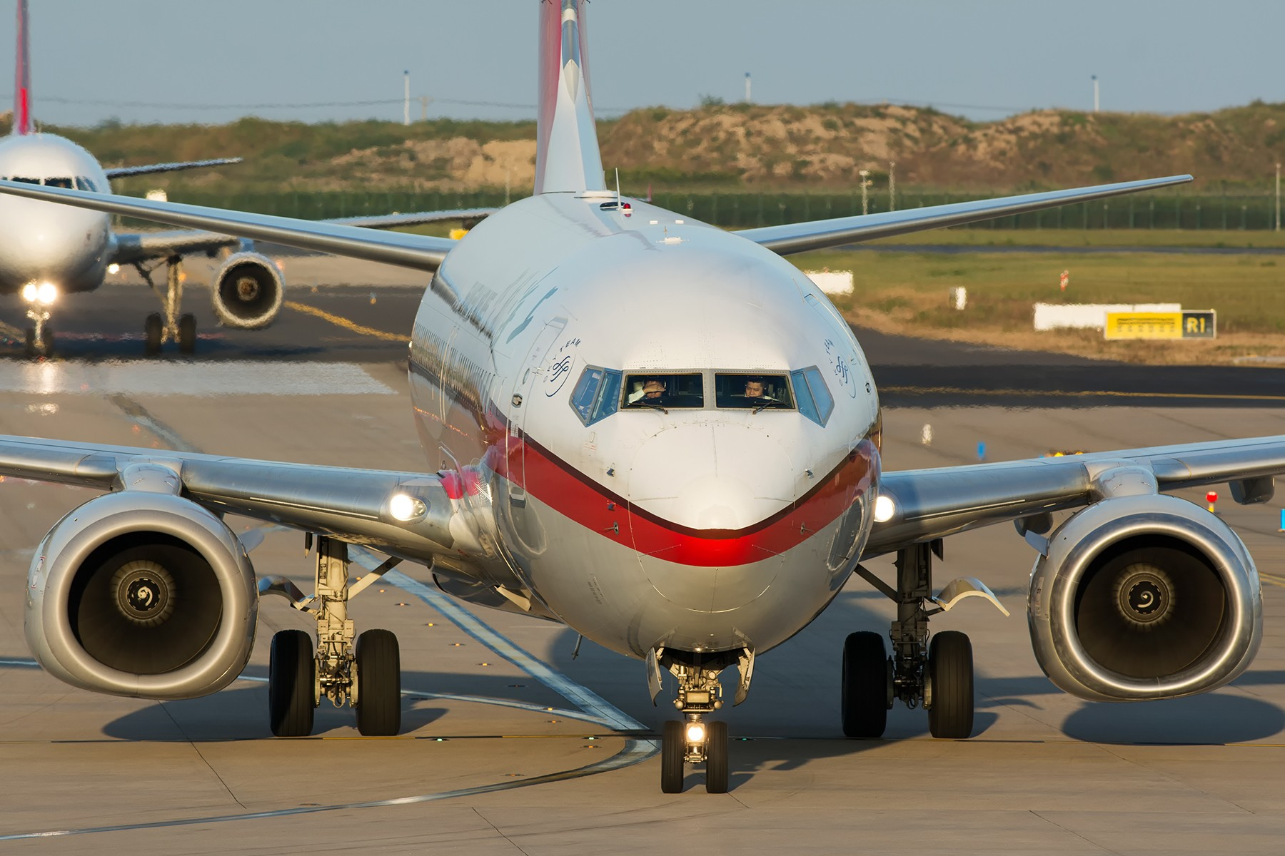 Re:[原创]【PVG】夕阳无限好,只是近黄昏 BOEING 737-800 B-1721 中国上海浦东国际机场
