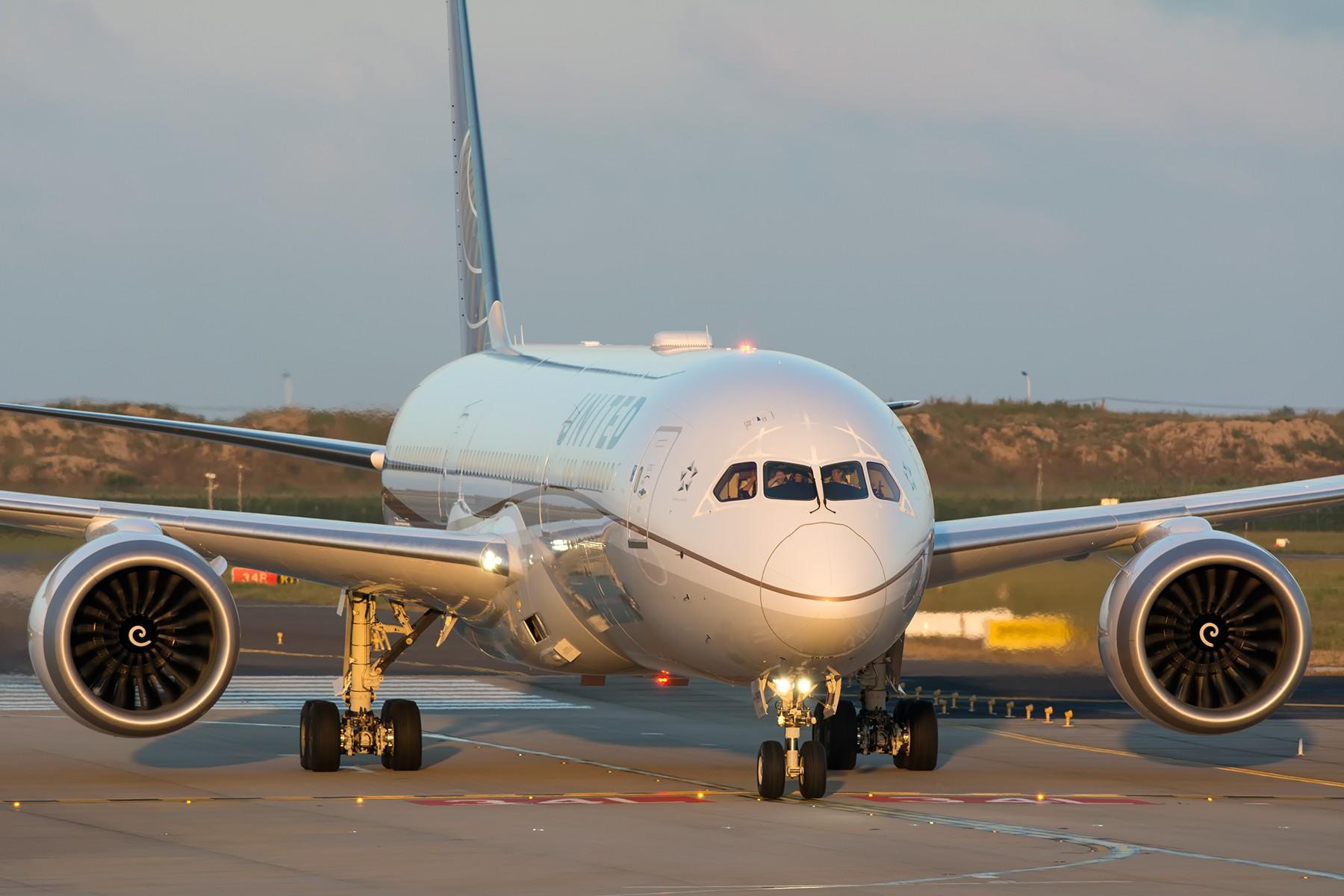 Re:【PVG】夕阳无限好,只是近黄昏 BOEING 787-9 N26970 中国上海浦东国际机场