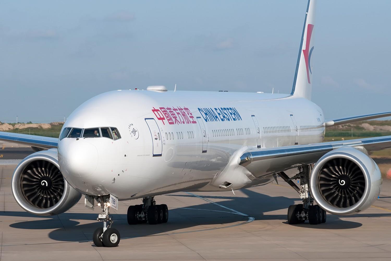 [原创][PVG] 霸气的777和787正面照一组 BOEING 777-300ER B-7881 中国上海浦东国际机场