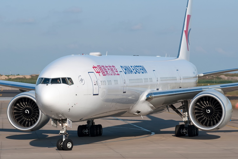 [PVG] 霸气的777和787正面照一组 BOEING 777-300ER B-7881 中国上海浦东国际机场