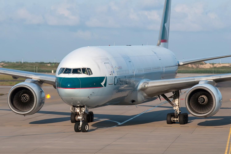 Re:[原创][PVG] 霸气的777和787正面照一组 BOEING 777-200 B-HND 中国上海浦东国际机场