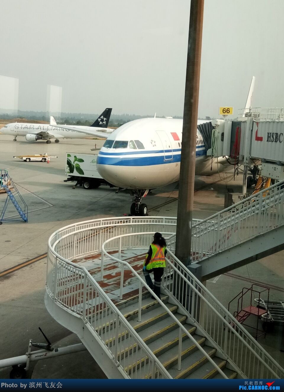 Re:[原创]逐梦之行―白令海峡上看日出,第一次乘坐空客的A330-300客机,第三次北美之行,深度探索中国飞加拿大航线上的服务[中国国际航空公司执飞] AIRBUS A330-300 B-5978 加拿大温哥华机场