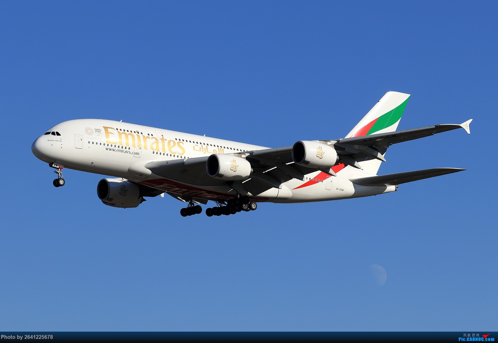 Re:[原创]庆祝自己在jetphotos.net的第100张 AIRBUS A380-800 A6-EEW 中国北京首都国际机场
