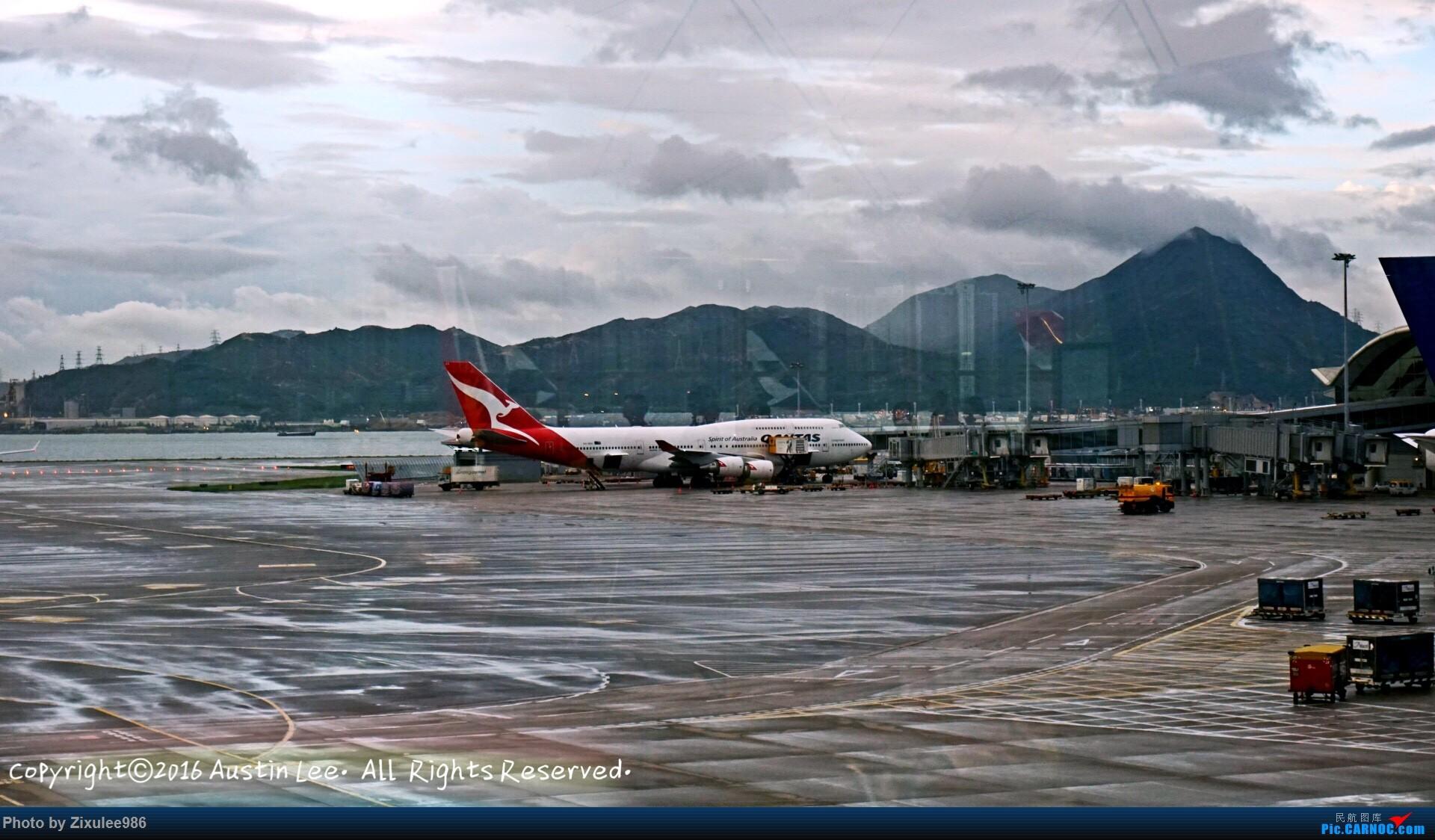 Re:[原创]论坛修复后第一波~三年来旅游途中的拍机精选~不定时更新 BOEING 747-438(ER) VH-OEH 中国香港国际机场