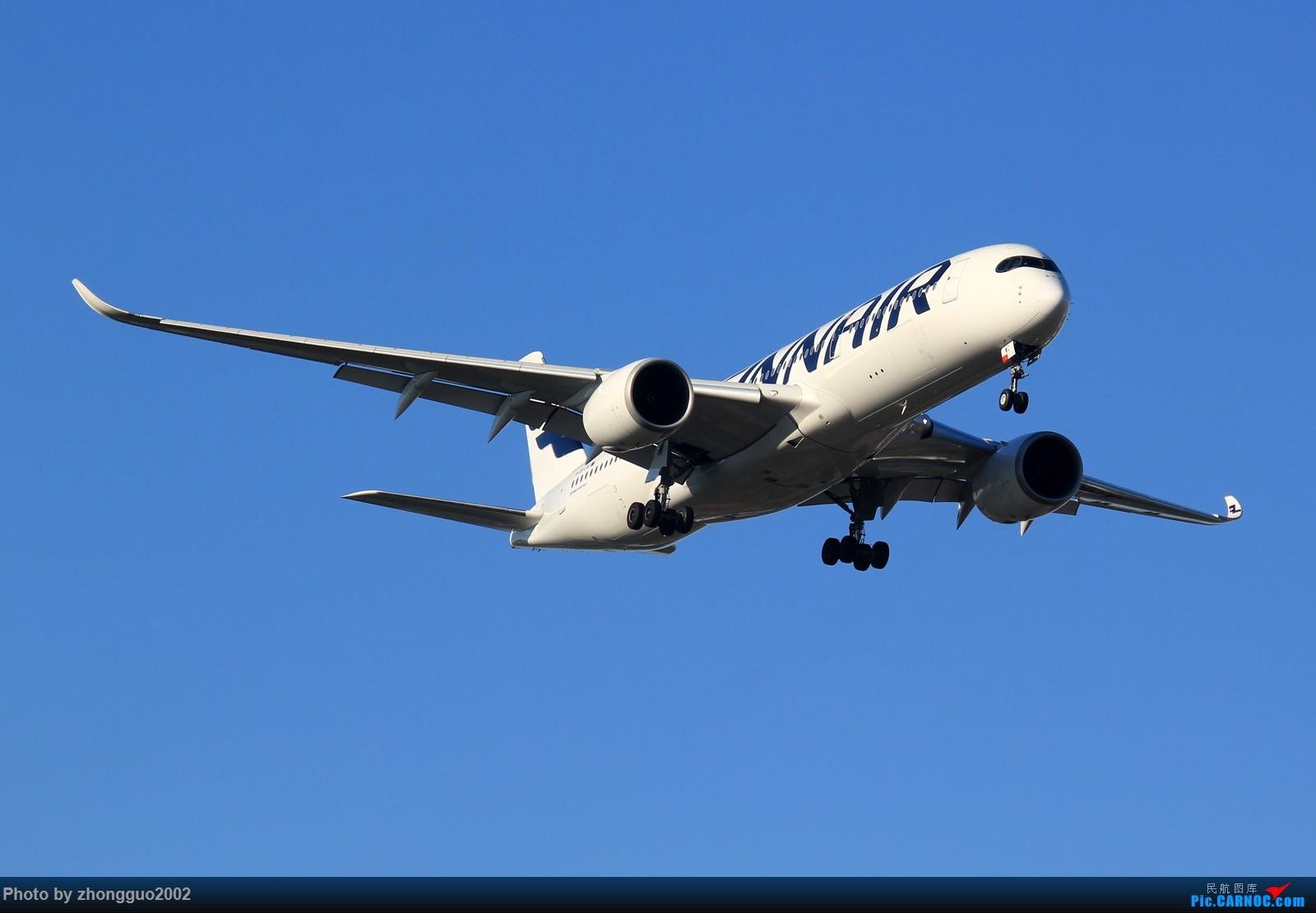 Re:[原创]怀念北京这个夏天 AIRBUS A350-900  中国北京首都国际机场