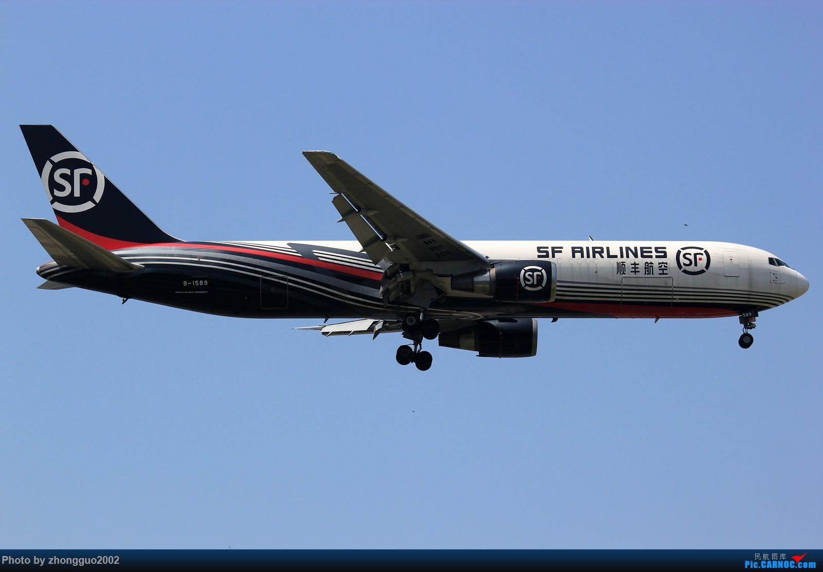 Re:[原创]怀念北京这个夏天 BOEING 767-300ER B-1589 中国北京首都国际机场