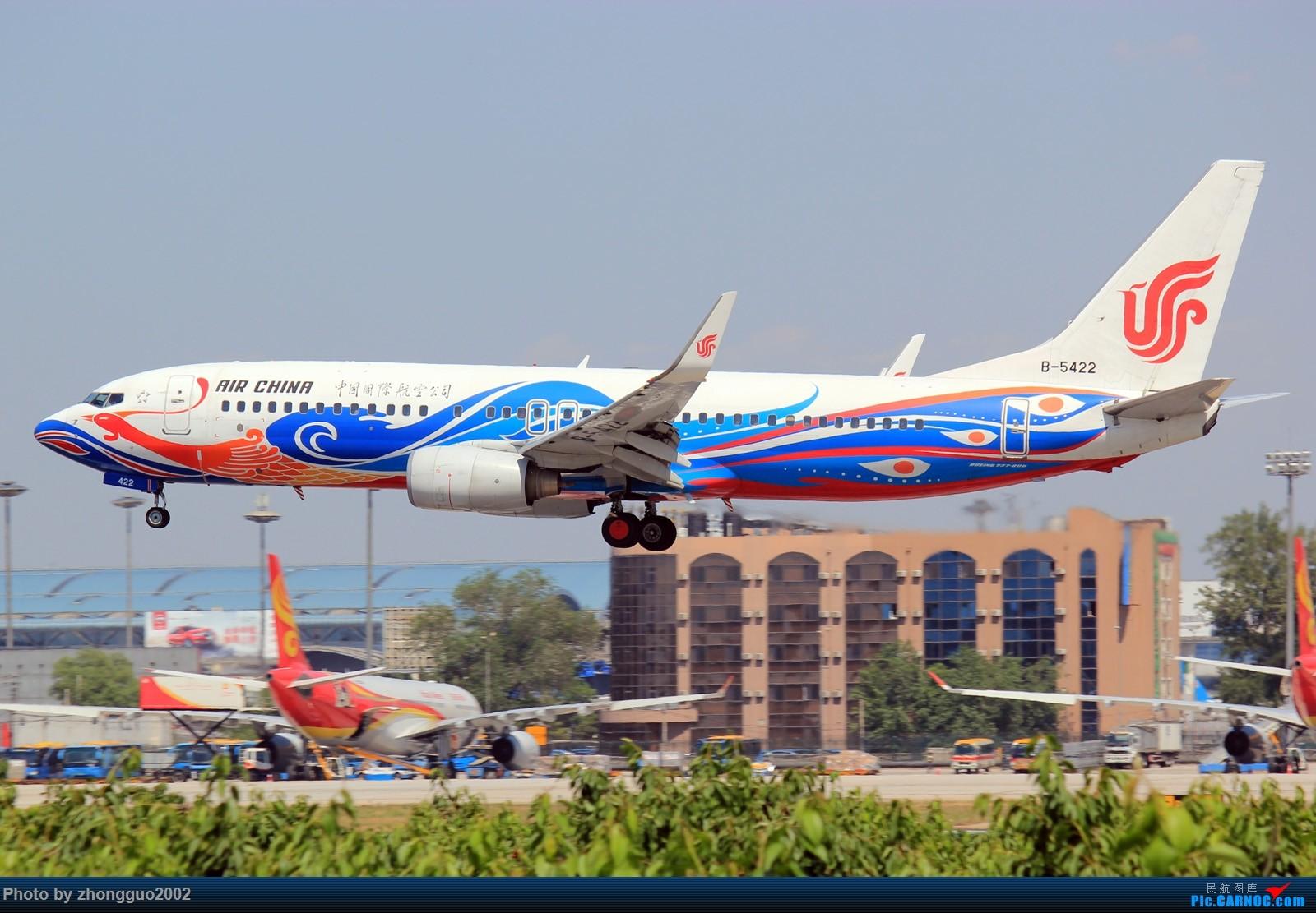 Re:[原创]怀念北京这个夏天 BOEING 737-800 B-5422 中国北京首都国际机场