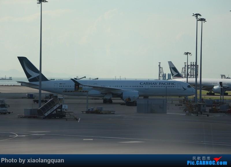 Re:[原创]国庆美帝关岛之行,HKG-MNL-GUM-MNL-HKG更新中 AIRBUS A350-900 B-LRP 中国香港国际机场