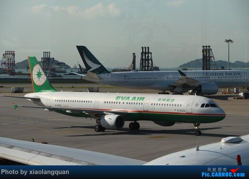 Re:[原创]国庆美帝关岛之行,HKG-MNL-GUM-MNL-HKG更新中 AIRBUS A321-200 B-16203 中国香港国际机场