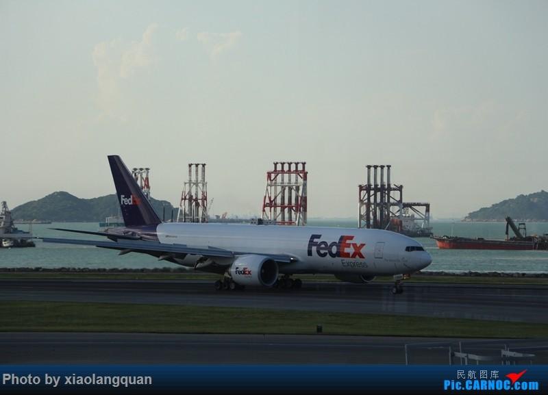 Re:[原创]国庆美帝关岛之行,HKG-MNL-GUM-MNL-HKG更新中 BOEING 777-200 N859FD 中国香港国际机场