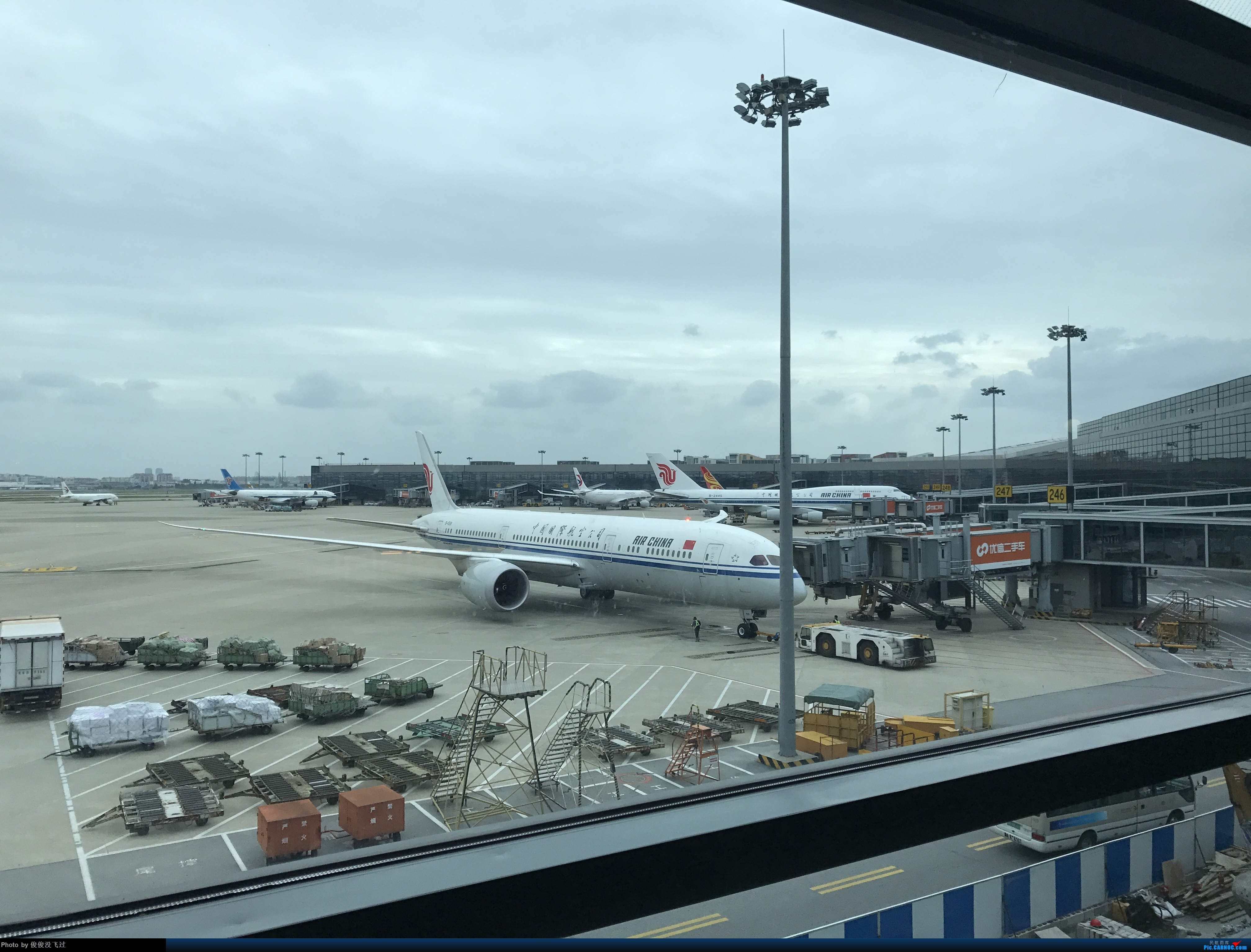 Re:[原创]SHA BOEING 787-9 B1531 上海虹桥国际机场
