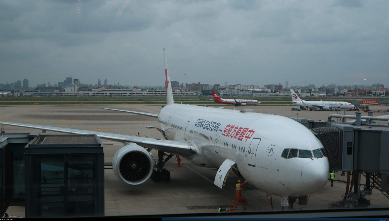Re:[原创]SHA BOEING 777-300ER B-7347 中国上海虹桥国际机场