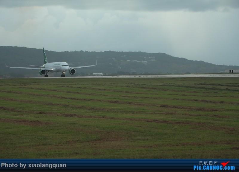 Re:[原创]国庆美帝关岛之行,HKG-MNL-GUM-MNL-HKG上半集更新中 BOEING 757 N233LT 关岛关岛国际机场