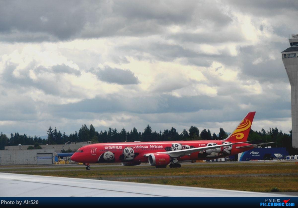 Re:[原创]【2017美西之旅】美联航UA8/9 B787-8 成都-旧金山-成都 CTU-SFO—CTU 领略多彩的美西风光 多图欢迎观看! BOEING 787-9 B-6998