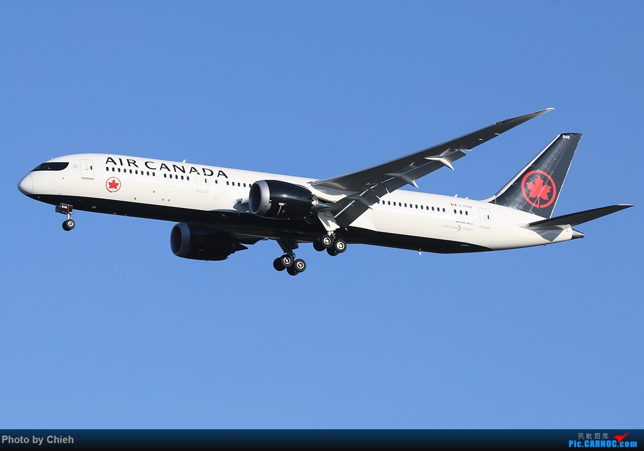 [原创]2017-11-03,一图,加拿大航新装B787-9~ BOEING 787-9 C-FRSR 中国北京首都国际机场