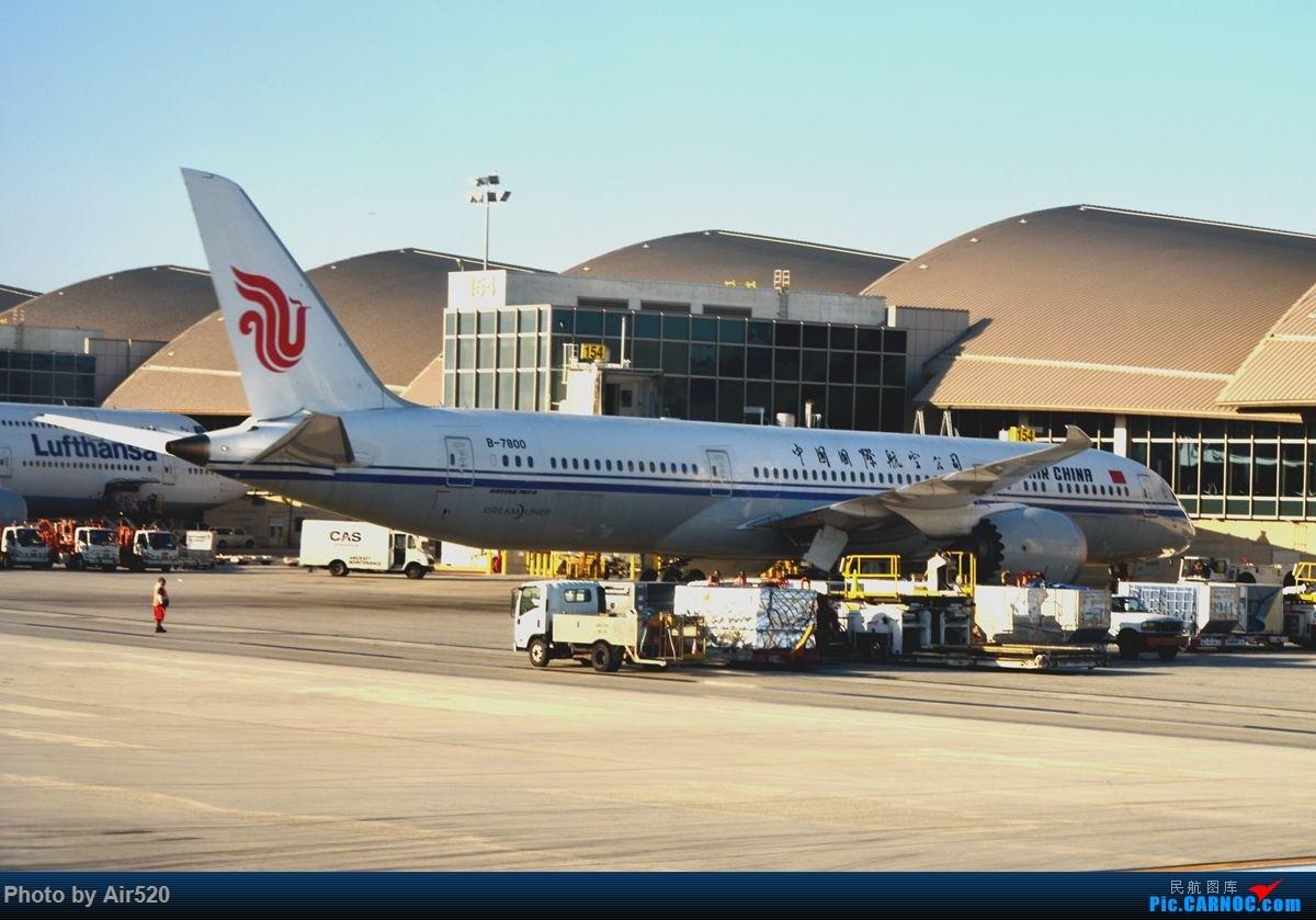 Re:[原创]【2017美西之旅】美联航UA8/9 B787-8 成都-旧金山-成都 CTU-SFO—CTU 领略多彩的美西风光 多图欢迎观看! BOEING 787-9 B-7800
